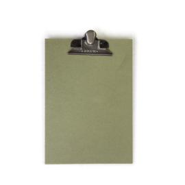 Klembord A4 | MDF | Groen