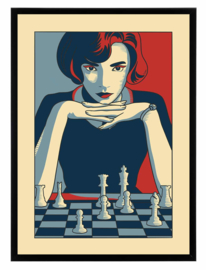 Esque   Poster   Queens   Gambit  Backorder