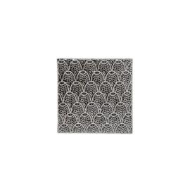 Tegel Decoratief | Aardewerk | Grijs | 10,5cm