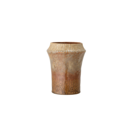 Vase Violanda | Keramik | Braun