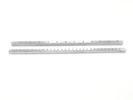 Lineal | Edelstahl | 30 cm