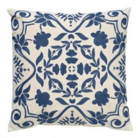 Dutch Decor | Sierkussen | Mena Provincial Blue | 45x45