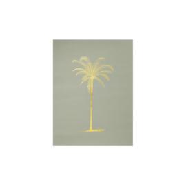 Poster palmboom | Groen