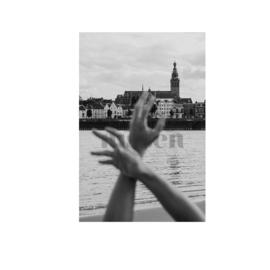 Foto Nijmegen | Handen z/w