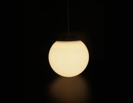 Solar-Pendelleuchte - Weiß 20cm