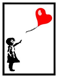 Esque   Poster   Bansky   Girl with balloon   Backorder