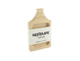 Woodlane Tapazz Tapasplank Halsgevel| Bamboe | Naturel