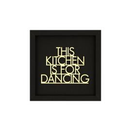 Werkpunk This Kitchen... | Zwart | M