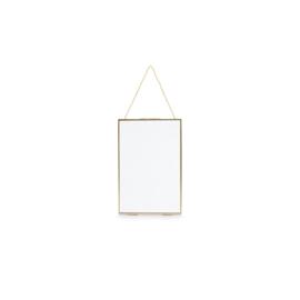 Fotolijst | Hangend | Metaal | Goud | 30 x 40 cm