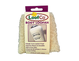 LoofCo bath and shower sponges