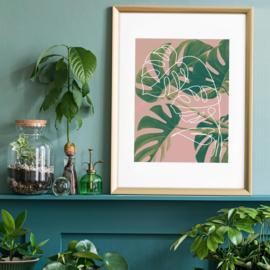 Monstera Minimal Print | 30x40