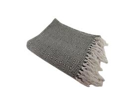 Plaid | Baumwolle | Schwarz und weiß