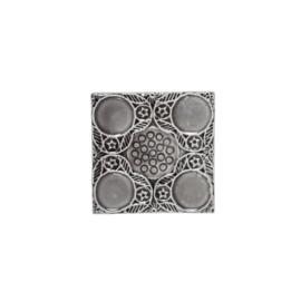 Tegel Decoratief | Aardewerk | Grijs | 10,5 cm