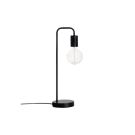 Lampe de table | Métal | Noir