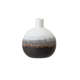 Vase | Keramik | Mehrfarbig | 10cm
