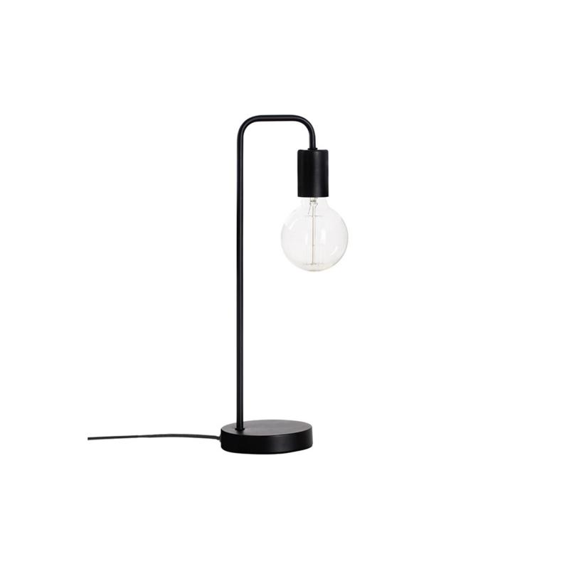 Tischlampe Metall - Schwarz