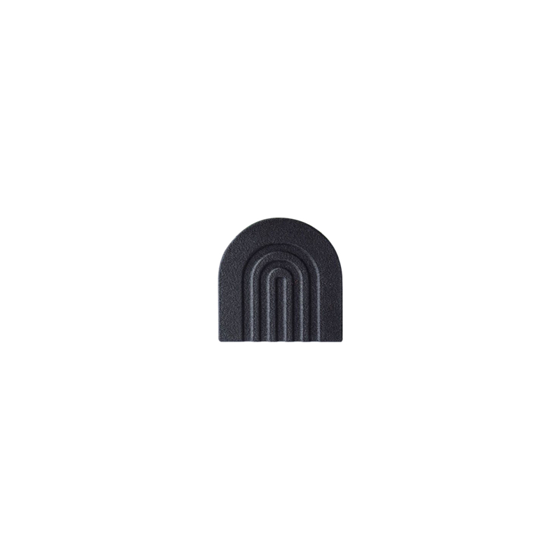 COPO Design | Vaascover Rainbow | Gerecycled hout | Zwart | 6cm