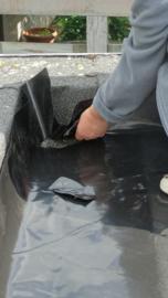 Wortelwerende folie - 0,5 mm - Bescherming van de waterdichting als deze niet wortelwerend zou zijn.