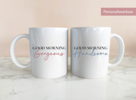 Set Mokken Good Morning met Naam