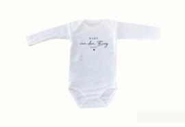 Baby Romper Achternaam en Jaartal