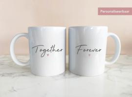 Set Mokken Together Forever met Naam