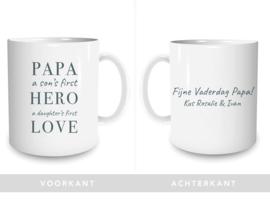 Mok Vaderdag: Hero - Love