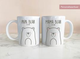 Set Mokken Mama & Papa Bear
