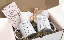 Giftbox Mama, Papa & Baby Bear Compleet