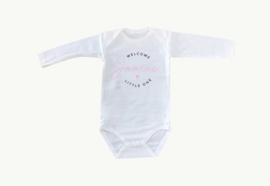 Baby Romper Welcome Little One