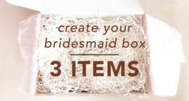 Create You're Bridesmaid Giftbox 3 Items