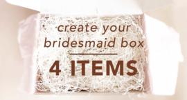 Create You're Bridesmaid Giftbox 4 Items