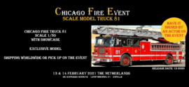 Exclusive Scale Model: Chicago Fire Truck 81