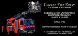 Exclusive Scale Model: Mercedes Atego Ladderwagen 1/87