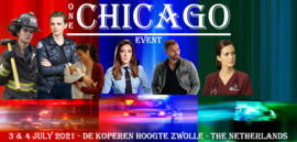 ONE CHICAGO EVENT - Group Photo - Photoshoot - 17:00 uur ( Only Saturday )