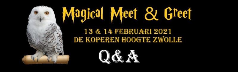 Magical Meet & Greet -  Q&A (13.00)