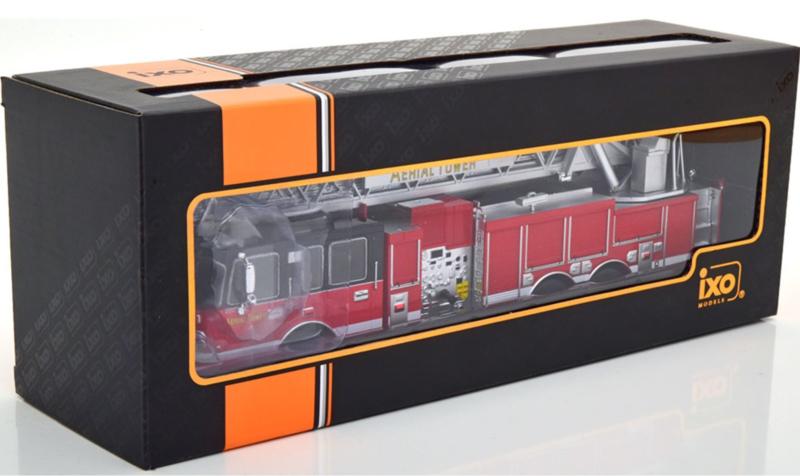 Exclusive Scale Model: Chicago Fire Truck 81 - IXO 1/43