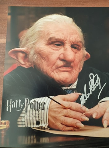 Autographics Movie Events Josh bennett is an actor who played a gringotts goblin in harry potter and the deathly hallows: autographics movie events