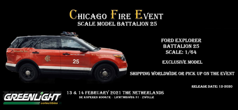 Exclusive Scale Model: Chicago Fire Battalion 25