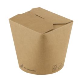 bruinkraft noodle box 780 ml/ verpakt per 50 stuks