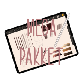 MEGA PAKKET - Alle Presets voor ProCreate