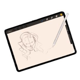 Sabs Oval Sketch brush
