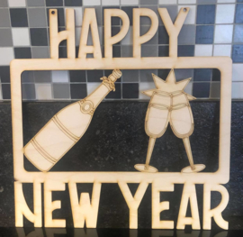 "Nieuwjaarsdecoratie  ""HAPPY NEW YEAR"""