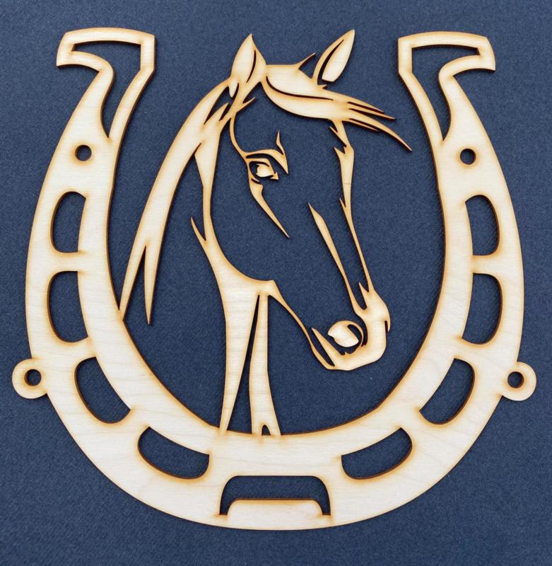 Paard in Hoefijzer