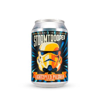 Original Stormtrooper Beer - Lightspeed Pilsner 2.0