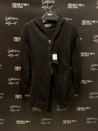 Long vest black LV004