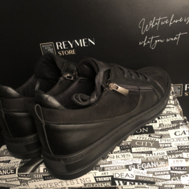 Reymen black3 shoes met rits RSH003
