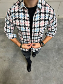 Houthakkers blouse pink design BLS034