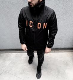 Lentejas Icon design zwart oranje JS020