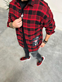 RYMN Blouse Peaky Blinders rood BLS036
