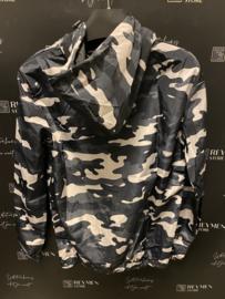 Dunne jasje hoodie style camouflage RJ005